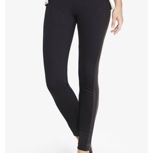 🆕 Like new Express scuba panel black legging